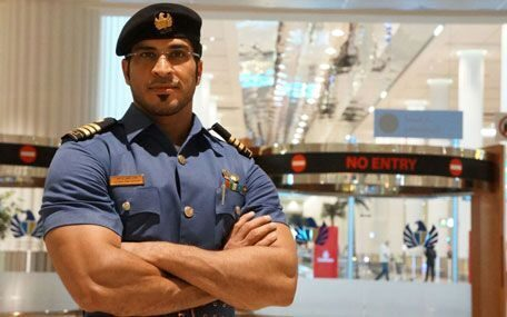 Dubai-Customs-Inspector-at-Airport